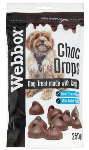 Webbox Choc Drops for Dogs